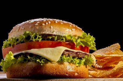 Negocio de hamburguesas.