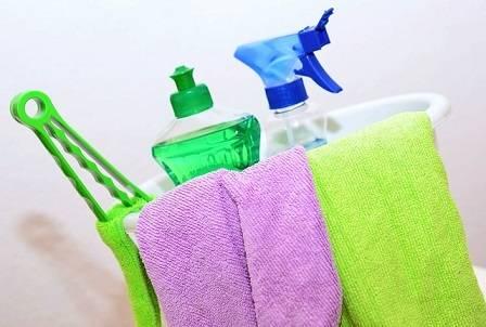 Negocio de productos de limpieza