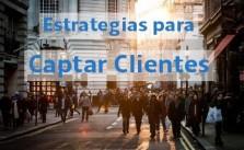 Estrategias para captar clientes