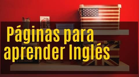 Páginas para aprender inglés
