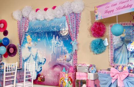 negocio de decoración de fiestas infantiles