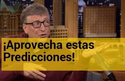 Predicciones de Bill Gates sobre los negocios del futuro.