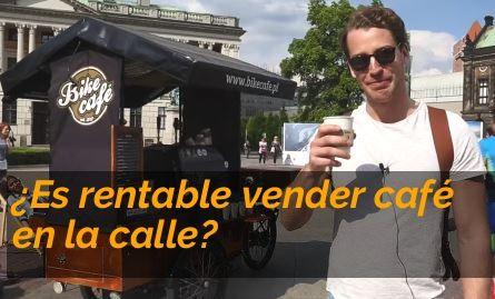 Vender café en la calle